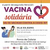 Varginha adere a campanha Vacina Solidária que será a partir desta segunda-feira, 21