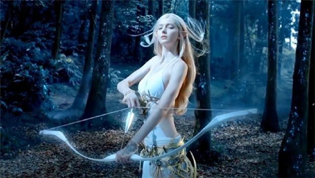Nữ thần game 3D 17 tuổi đẹp như tranh vẽ
