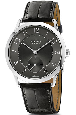 Hermès Slim d'Hermès 39.5mm watch with Slate Toned Dial