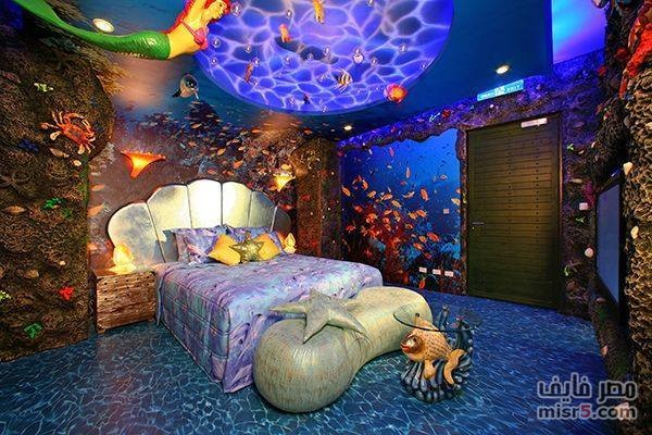mermaid bedroom design ideas and bedroom interior