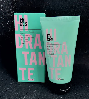 resenha hidratante facial pele mista a oleosa faces natura