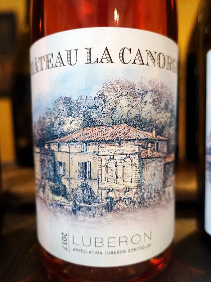 Château la Canorgue Luberon Rosé 2017 (88 pts)