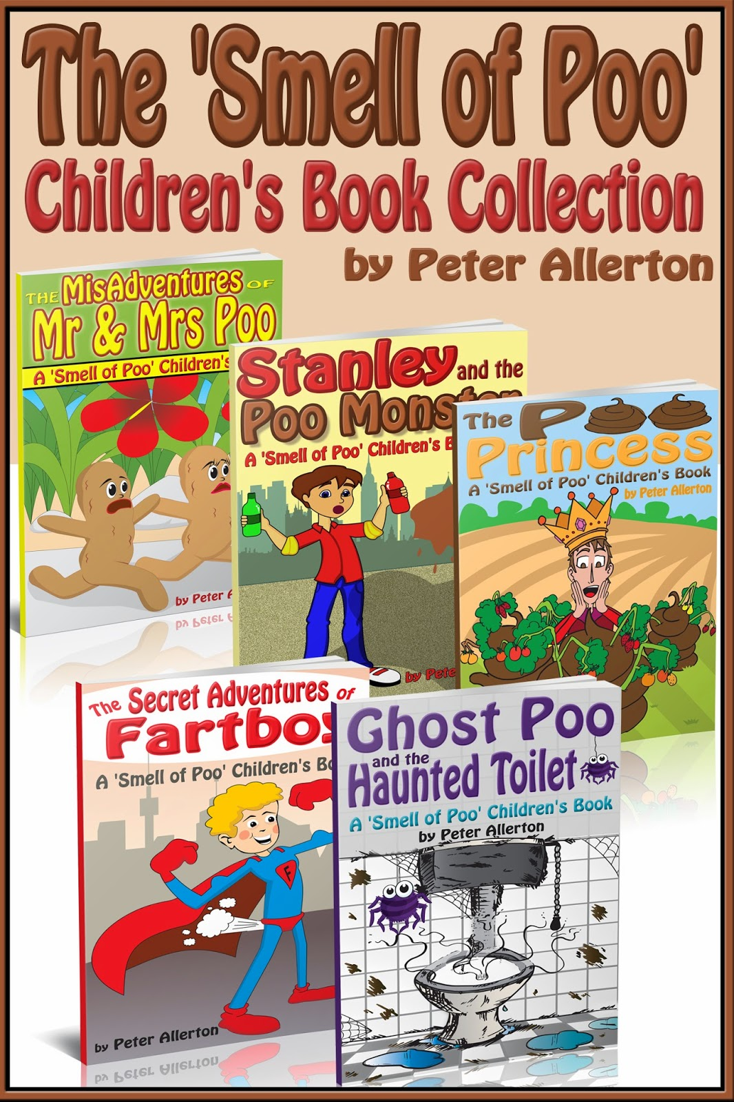 funny children's books box set