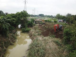 Pasca Banjir Wakil Walikota Cirebon Meninjau Langsung Normalisasi Sungai