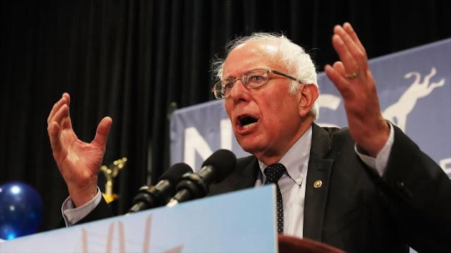 Wikileaks publica archivos de audio vinculados a la campaña contra Sanders