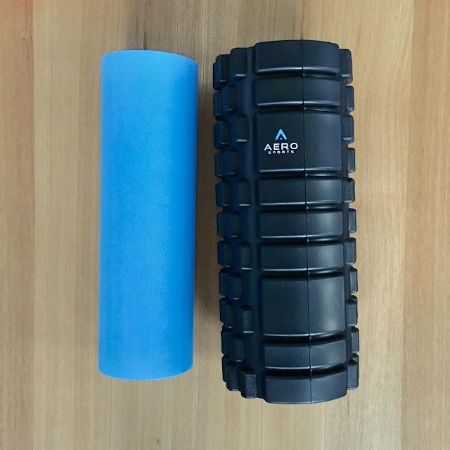 Aero Sports 2-in-1 Foam Roller