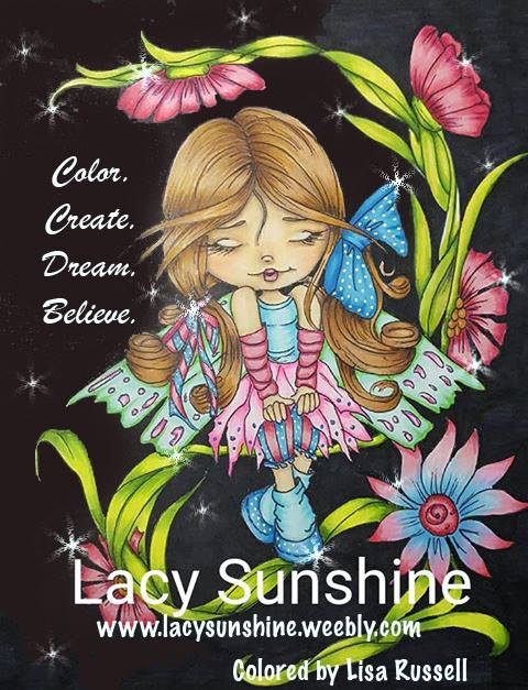 Thrilled to be a member of Lacy Sunshine Design Team