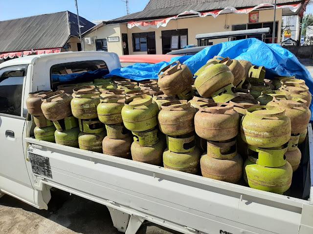 Angkut 150 Tabung Gas Melon Tanpa Surat, Warga Marioriawa Ditahan Polisi