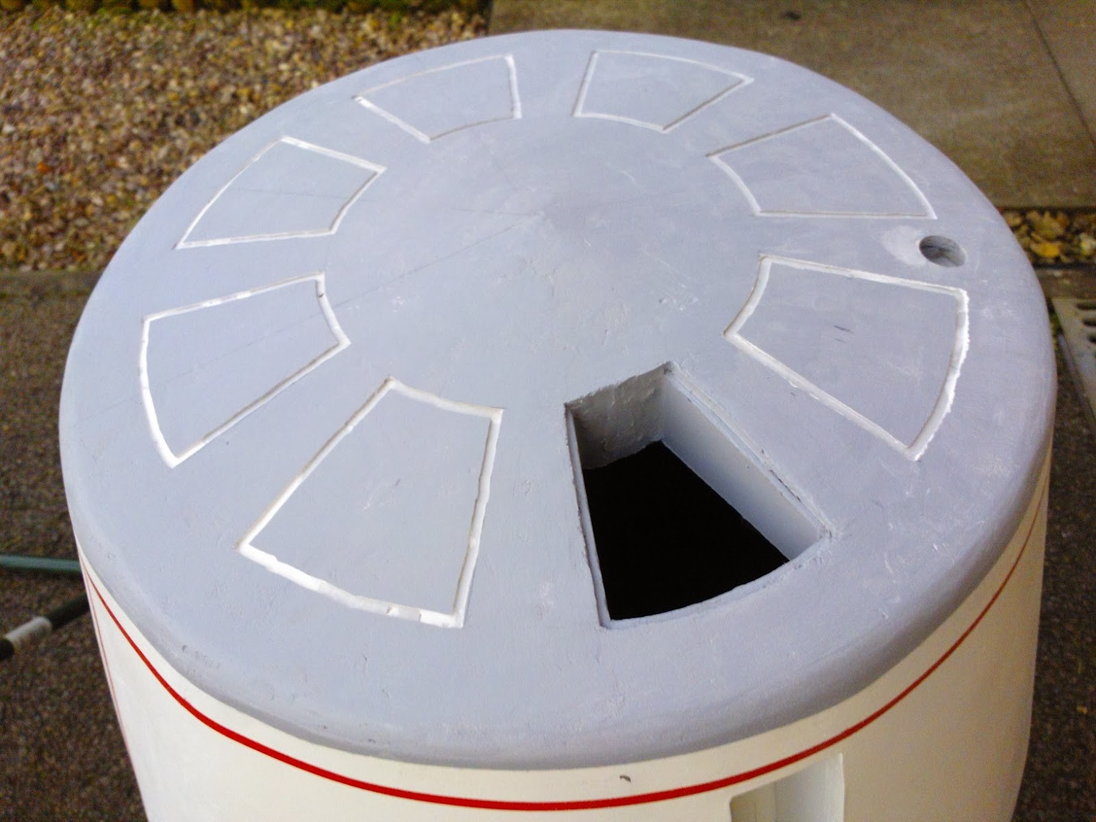R5-D4 Dome pie panels