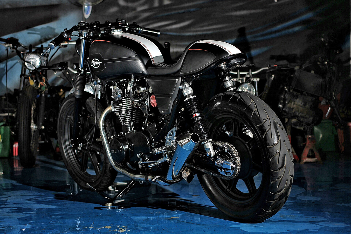 The Minka - Yamaha XS650 Cafe Racer | Return of the Cafe ...