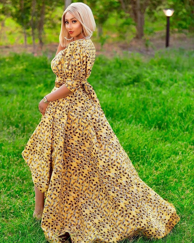 2021 African Modern Styles: African Dresses Designs pictures 2021