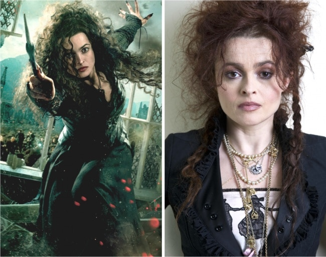 Bellatrix Lestrange interpretado por Helena Bonham Carter