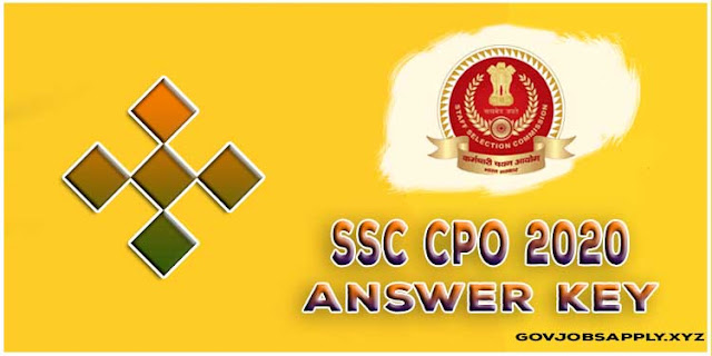 SSC SI in Delhi Police and CAPF Recruitment 2020 | Click Here to Download your respones.