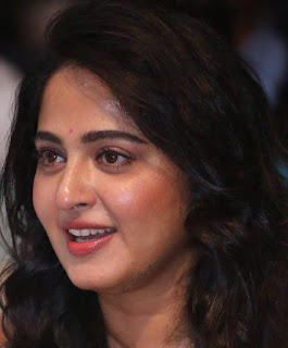 Hyderabadi Actress Anushka Shetty Oily Face Closeup Pictures (8)