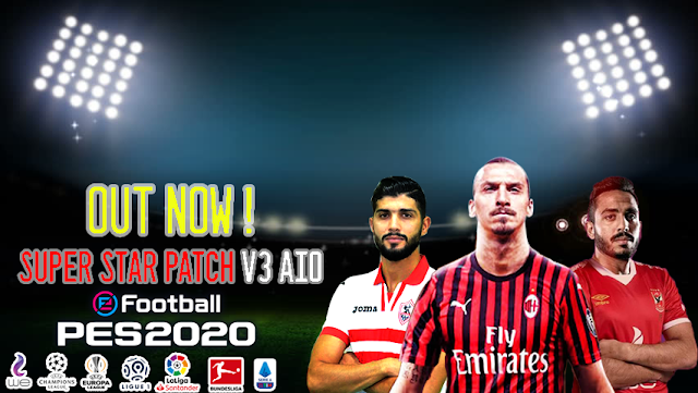 eFootball PES 2020 Super Star Patch V3 2020