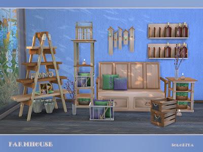 Ферма — объекты, инвентарь и декор для Sims 4 со ссылками для скачивания