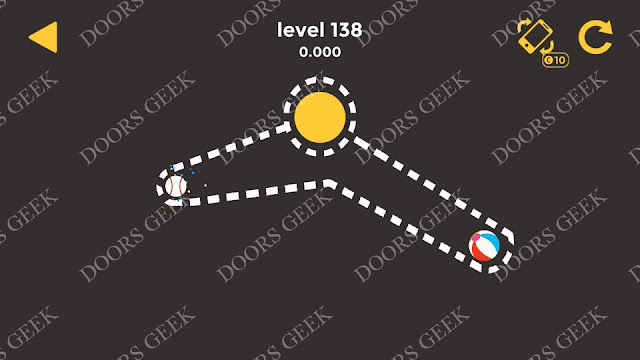 Ball & Ball Level 138 Solution, Walkthrough, Cheats for android and ios