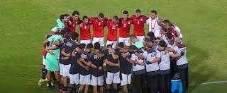 بداية المشوار مصر تفوز على أنجولا في بتصفيات كأس العالم 2022