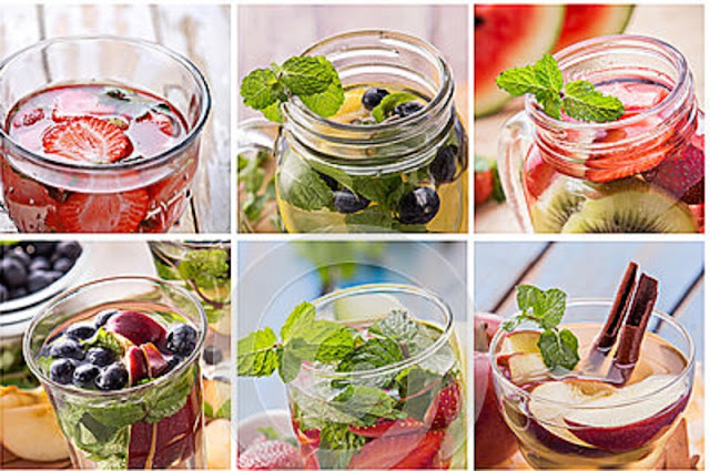 Inilah 8 Resep Infused Water Sederhana Agar Kamu Tetap Semangat Selama Berpuasa!! Langsung Coba Aja..