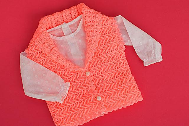 3 - Crochet Chaleco lindo a crochet y ganchillo por Majovel Crochet