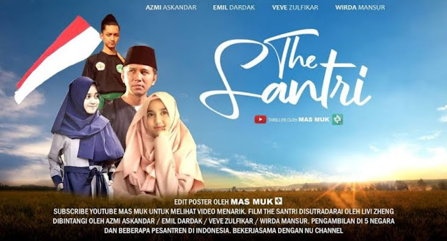 Ramai Tagar #BoikotFilmTheSantri, Netizen : Terima Kasih Buat Promosi Gratisnya