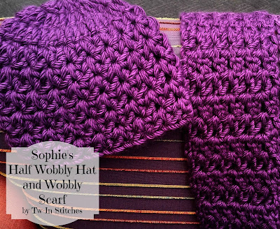 Tw In Stitches Sophie S Half Wobbly Hat And Scarf Free