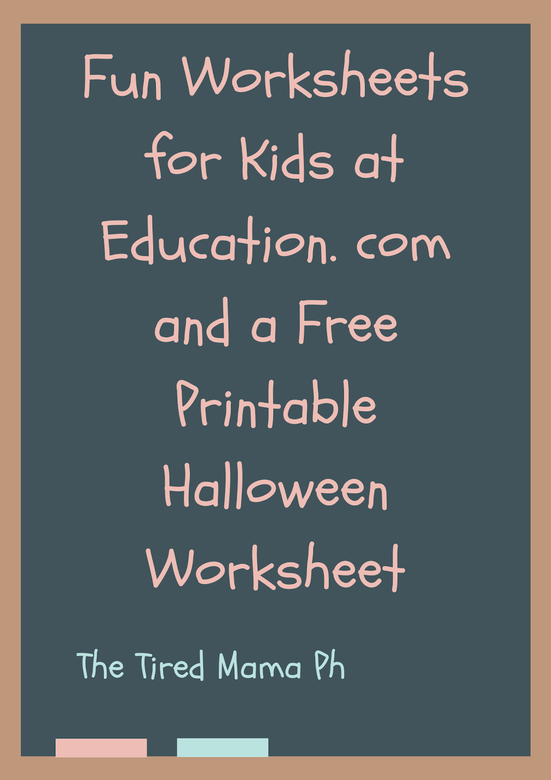 Fun Worksheets For Kids At Education And A Free