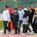 Wakil Presiden Terpesona Keindahan Mandalika