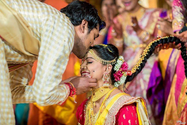 Varun sandesh Vithika Wedding Photos