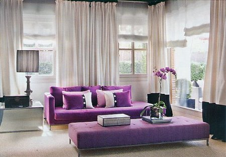 How to decorate with two colors 2