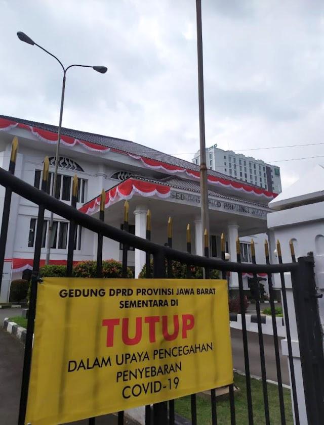 7 Anggota DPRD Jabar Positif Covid-19, Daddy : Harus di Lockdown