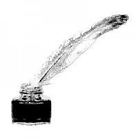 Tinta pertama ditemukan di Cina pada zaman dinasti Qin secara tidak sengaja saat mencampur kerak lampu minyak (ublik)