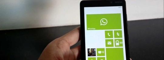 Cara Mengubah Ukuran Teks di Whatsapp pada Windows Phone