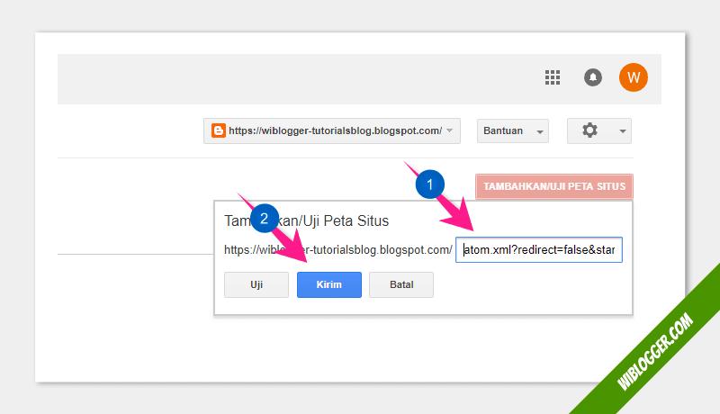 cara agar postingan terdapat di google