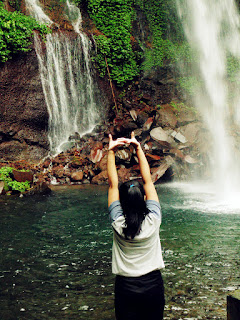 [CoC Regional: Lokasi Wisata] Main Air di Curug Telu Baturaden