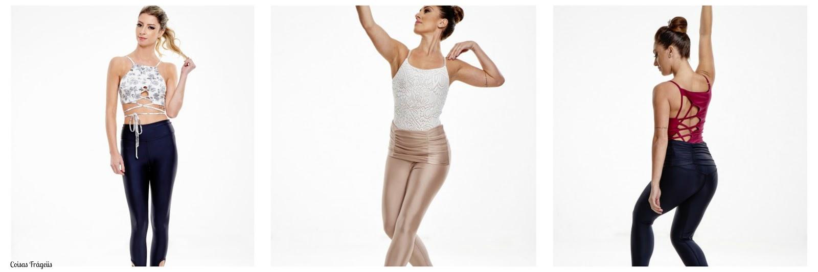3886060a72 É uma marca de roupa fitnness que fez uma coleção inspirado no ballet e eu  estou completamente apaixonada, as peças tem um ar romântico e moderno.