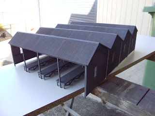 Model Train Buildings
