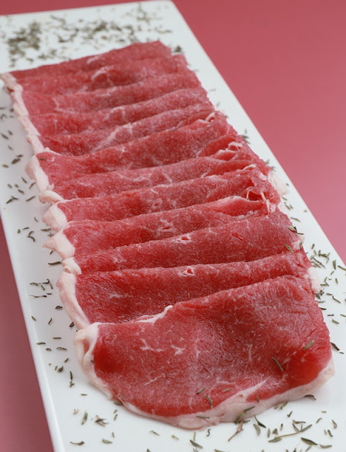 Aust lamb shabu-shabu