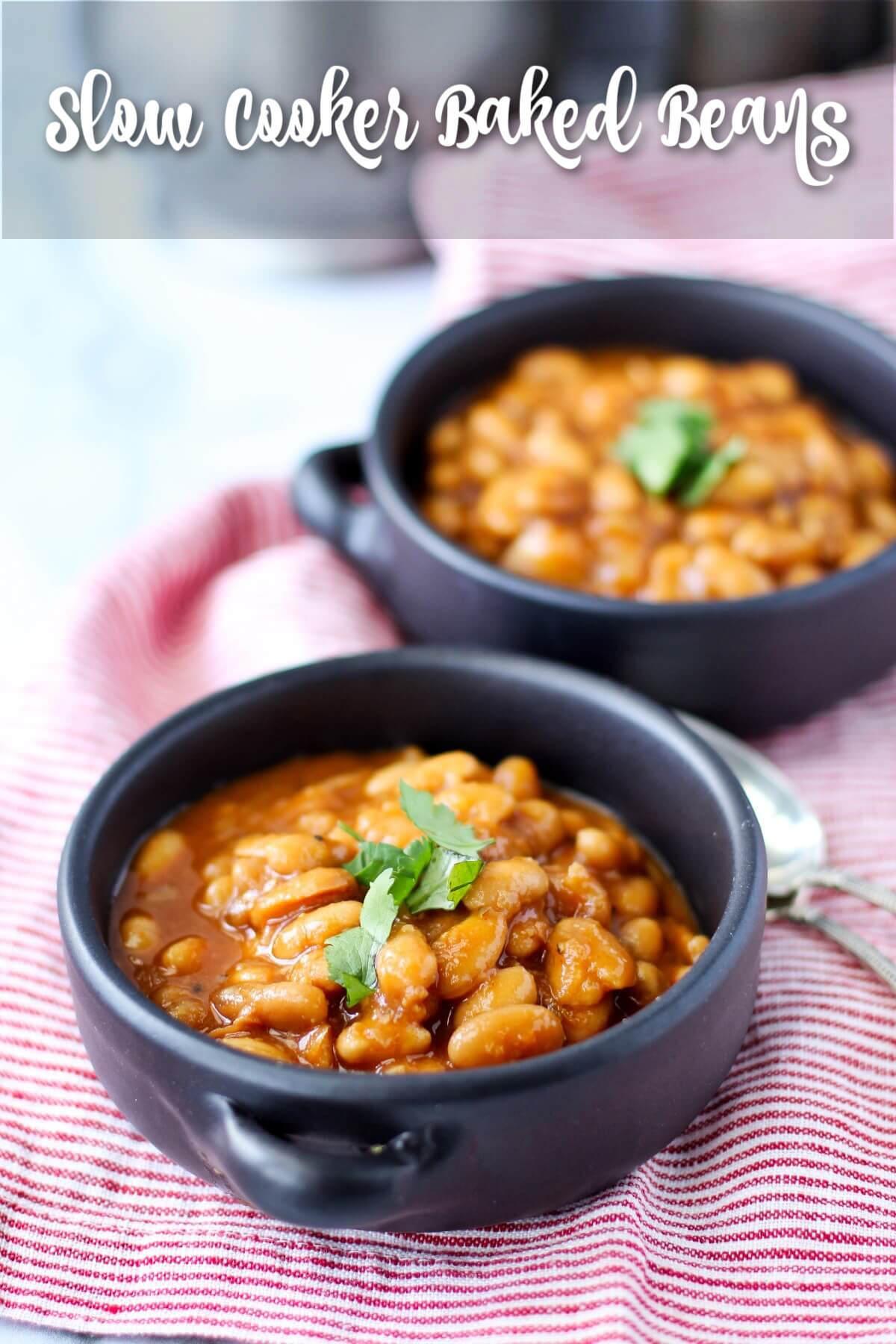 Crock Pot Baked Beans from Scratch