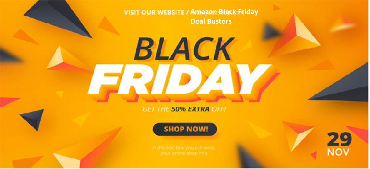 Black Friday Amazon top 5 Early Deals