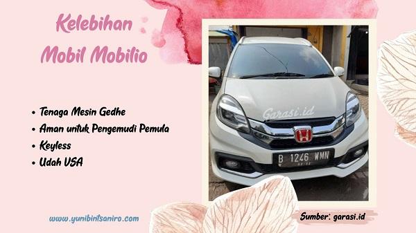 Kelebihan Mobil Mobilio