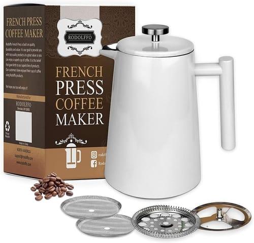 RODOLFFO French Press Coffee and Tea Maker