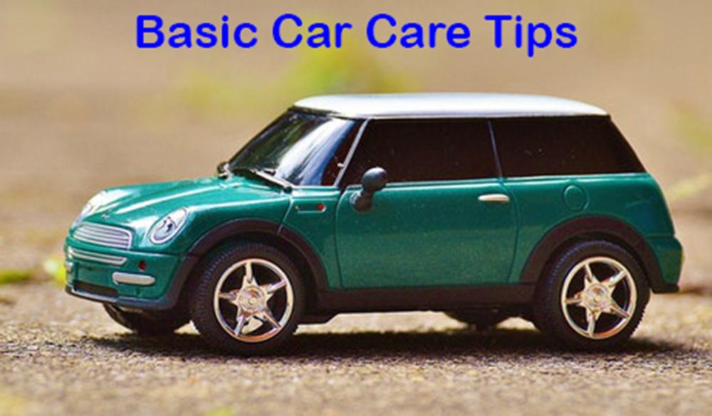 Basic Maintenance and Car Care Tips