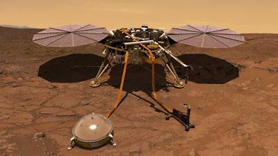 NASA reuniu novas informações sobre Marsquakes
