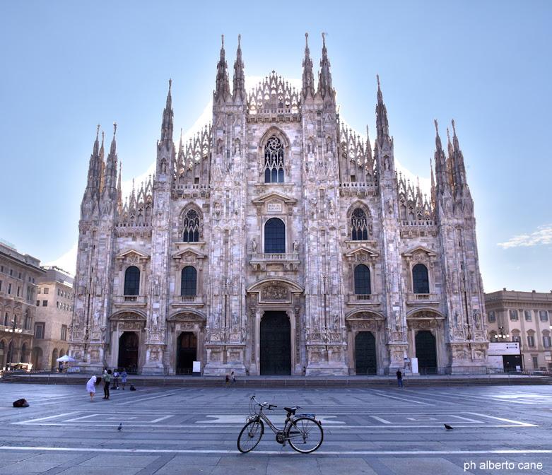 Milano, il Duomo e la mia bici