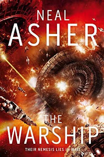 Cover for The Warship by Neal Asher