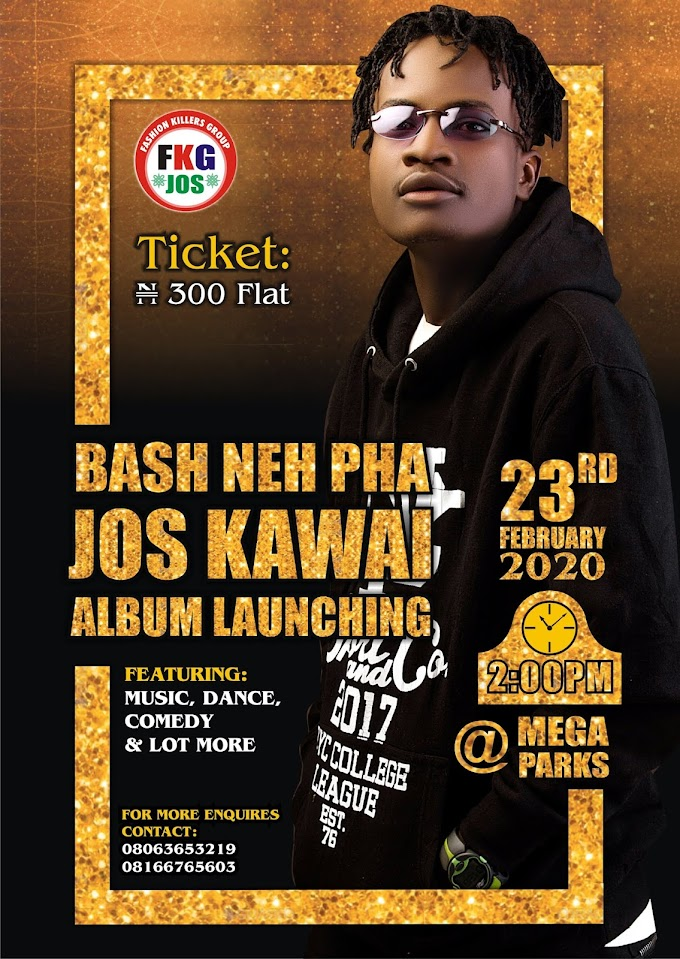 [ALBUM LAUNCH] Bash neh pha - Jos Kawai album launch.