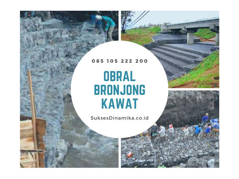 Pedagang Bronjong Kawat Kab.Berau Kalimantan Timur,bronjong kawat