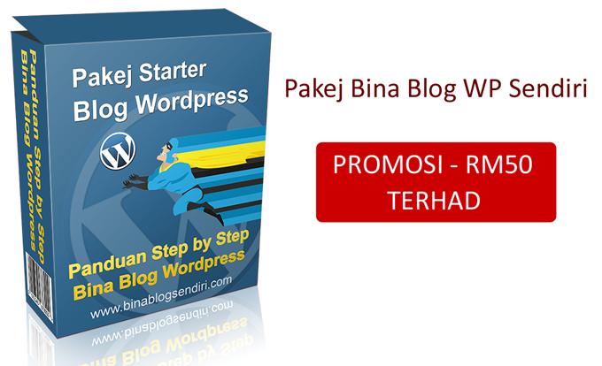 Bina Blog Wordpress Sendiri Dengan Pakej Starter Ini ..