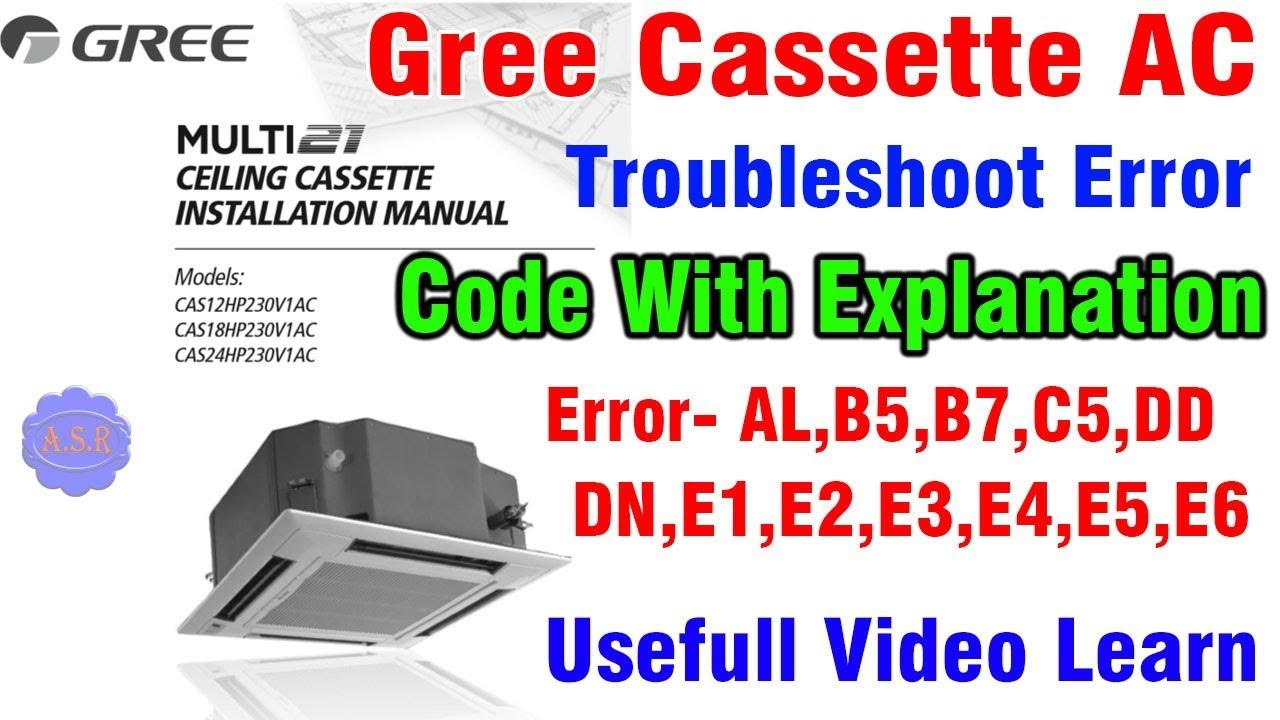 Gree Ac Error Code